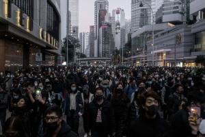 У Гонконзі сотні тисяч людей вийшли на протести
