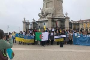 Українці в Лісабоні долучилися до акції #CТОПросійськійагресії