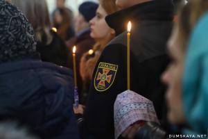 Пожежа у коледжі: в Одесі попрощалися із загиблим рятувальником