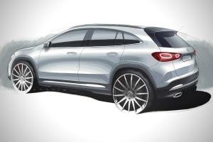 Mercedes-Benz показав дизайн нового кросовера