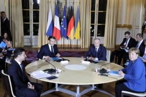 Началась встреча Зеленского и Путина