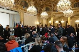 """Итоговая пресс-конференция """"нормандской четверки"""" в Париже"""