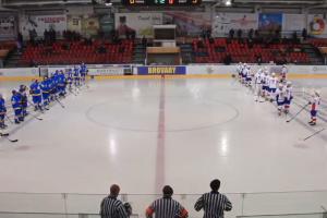"""Хокей: українська """"молодіжка"""" обіграла французів напередодні домашнього чемпіонату світу"""