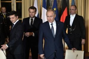 """Путин заявил, что встреча с Зеленским в Париже прошла """"по-деловому"""""""