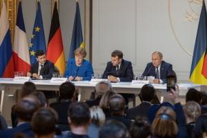 Зеленський: У нас із Путіним різні погляди на відновлення контролю над кордоном