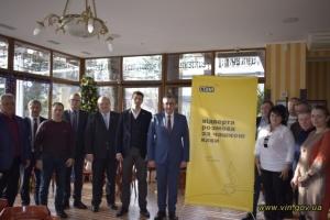 Голова Вінницької ОДА зустрівся з підприємцями «за кавою»
