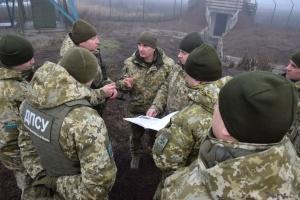 Голова ДПСУ перевірив облаштування кордону на ділянці з Росією