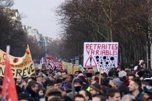 Протесты во Франции вызвали транспортный коллапс и закрытие школ