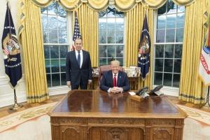 """Трамп пообіцяв розвинути діалог з Росією """"найближчим часом"""""""