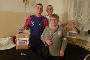 Поранені захисники України у Львові отримали подарунки від українок з Великої Британії