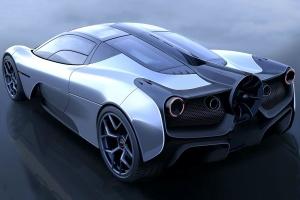 Творець McLaren F1 показав новий суперкар з вентилятором
