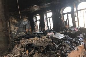 В одеському коледжі продовжують пошук тіл жертв пожежі