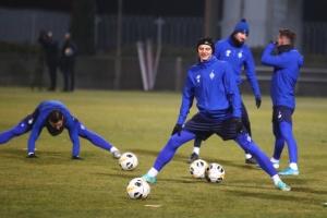 """Футболісти """"Динамо"""" провели відкрите тренування перед матчем із """"Лугано"""""""
