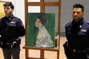 В Італії у стіні музею знайшли викрадену 22 роки тому картину Клімта