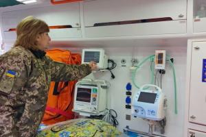 Військово-медичний клінічний центр у Харкові отримав сучасний реанімобіль