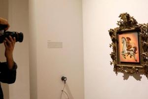 Картина з оголеним революціонером спричинила заворушення у Мехіко