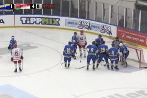 Хоккей: Украина проиграла Беларуси на турнире в Будапеште