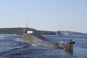 """В Росії підводний човен не доплив до свого останнього """"порту приписки"""""""