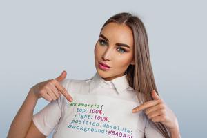 Відома топ-модель і переможниця міжнародного конкурсу краси Анна Морріс стала веб-програмістом