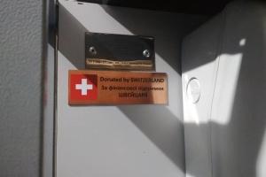 У Торецьку за підтримки Швейцарії встановили обладнання для знезараження питної води