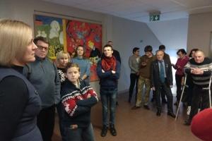 Колишні бранці Кремля відвідали місто Огре у Латвії