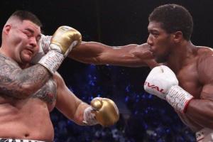 Джошуа предстоит выбрать - защищать титул IBF или WBO
