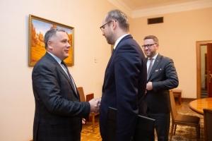 Заступник керівника ОП зустрівся з заступником держсекретаря МЗС Польщі