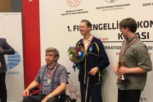 """Українець виборов """"золото"""" шахового турніру в Туреччині"""