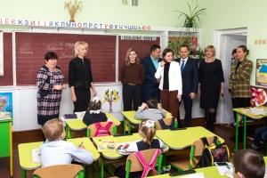 Олена Зеленська завітала до шкіл на Черкащині