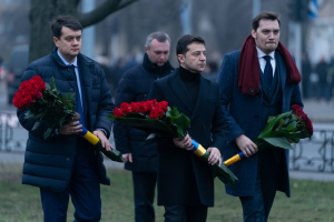 Zelensky pays tribute to Chornobyl liquidators