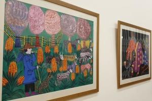 У Лондоні триває виставка творчості Примаченко, Яблонської та Крука: частину робіт показують уперше