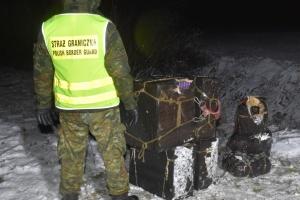 На кордоні з Польщею затримали найбільшу за рік контрабанду бурштину з України