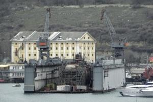 В окупованому Криму затонув списаний підводний човен — ЗМІ