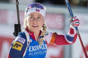 Норвежка Екхофф виграла гонку переслідування на другому етапі Кубка світу з біатлону