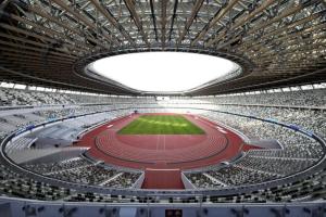 У Токіо відкрили п'ятиповерховий стадіон до Олімпіади-2020