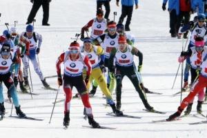 Украинские биатлонисты заняли 11 место в эстафете австрийского этапа Кубка мира