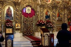 В Михайловском соборе хулиган разбил икону - соцсети