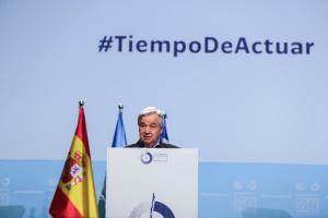 Генсек ООН розчарований результатами кліматичної конференції у Мадриді