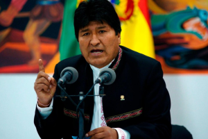 Боливия готовит ордер на арест экс-президента Моралеса