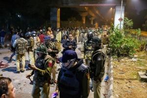 В Нью-Дели во время столкновений ранили 70 студентов