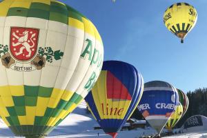 Под Киевом устроят путешествия на воздушных шарах с Сантой