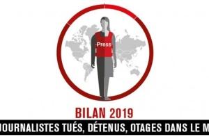 Liberté de la presse en 2019 : 56 journalistes tués, 250 emprisonnés