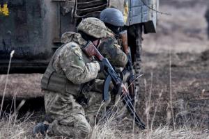 Окупанти гатять із заборонених мінометів та БМП, поранені восьмеро бійців