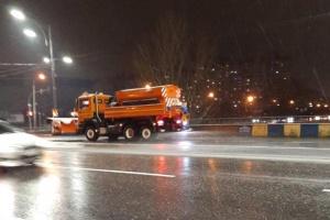 Київ бореться зі снігом і готується до погіршення погоди