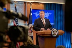 Помпео: США ніколи не визнають претензій Росії на суверенітет над Кримом