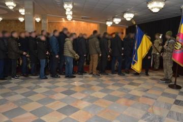 保安庁、ドンバス地方で死亡した特殊部隊隊員の告別式を実施