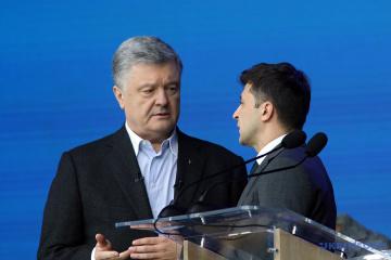 Zełenski kontra Poroszenko - ile głosów otrzymaliby dziś konkurenci w wyborach