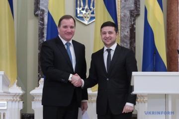 Zełenski i premier Szwecji spotkali się z mediami