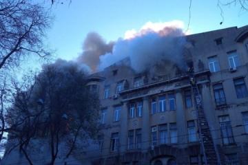 Brand in Odessa: An Brandverletzungen stirbt Lehrerin der Wirtschaftsberufsfachschule