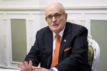 Trump-Anwalt Giuliani reist nach Kyjiw zum Treffen mit Ex-Generalstaatsanwalt Schokin